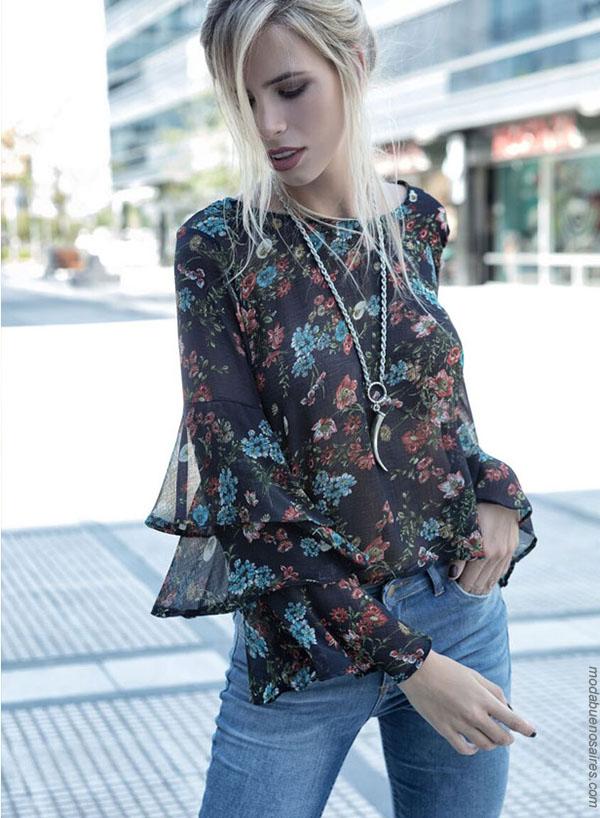 Moda invierno 2018. Blusas invierno 2018 moda mujer.