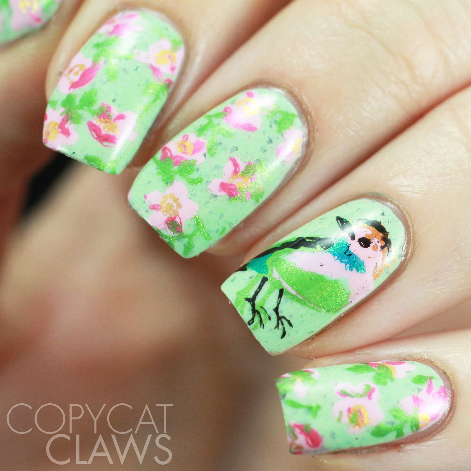Copycat Claws: Cici & Sisi Fruit and Flower Acrylic Stamping Plates