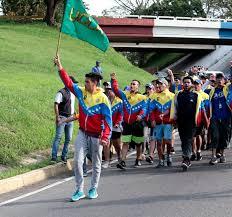 ASÍ FUE la represión en el túnel de La Cabrera a los jóvenes que caminan desde Barquisimeto hasta Caracas #jun16