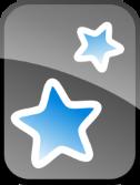 Logo programu do nauki z fiszek elektronicznych Anki