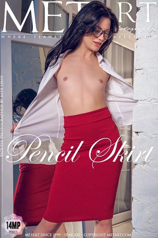 [Met-Art] Elouisa - Pencil Skirt