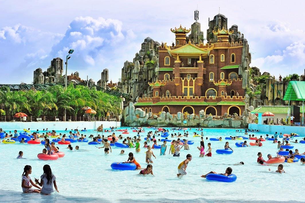Dịp lễ, KDL Đại Nam đón hàng nghìn khách du lịch