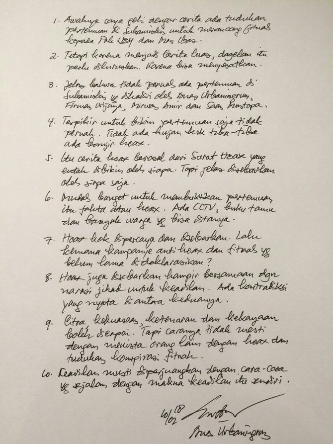 Tulis surat, Anas bantah susun skenario fitnah untuk SBY dari Sukamiskin