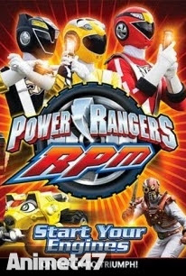 Siêu Nhân Power Rangers RPM - Power Rangers: Racing Performance Machines 2009 Poster