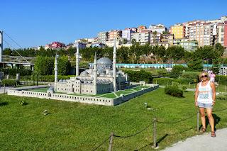 Miniatürk, Mezquita de Solimán el Magnífico o Süleymaniye Cami.