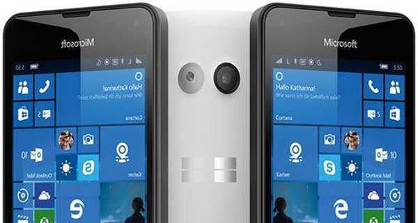 Lumia 550 Receive Update Improvements WiFi, Bluetooth, Cellular, and GPS