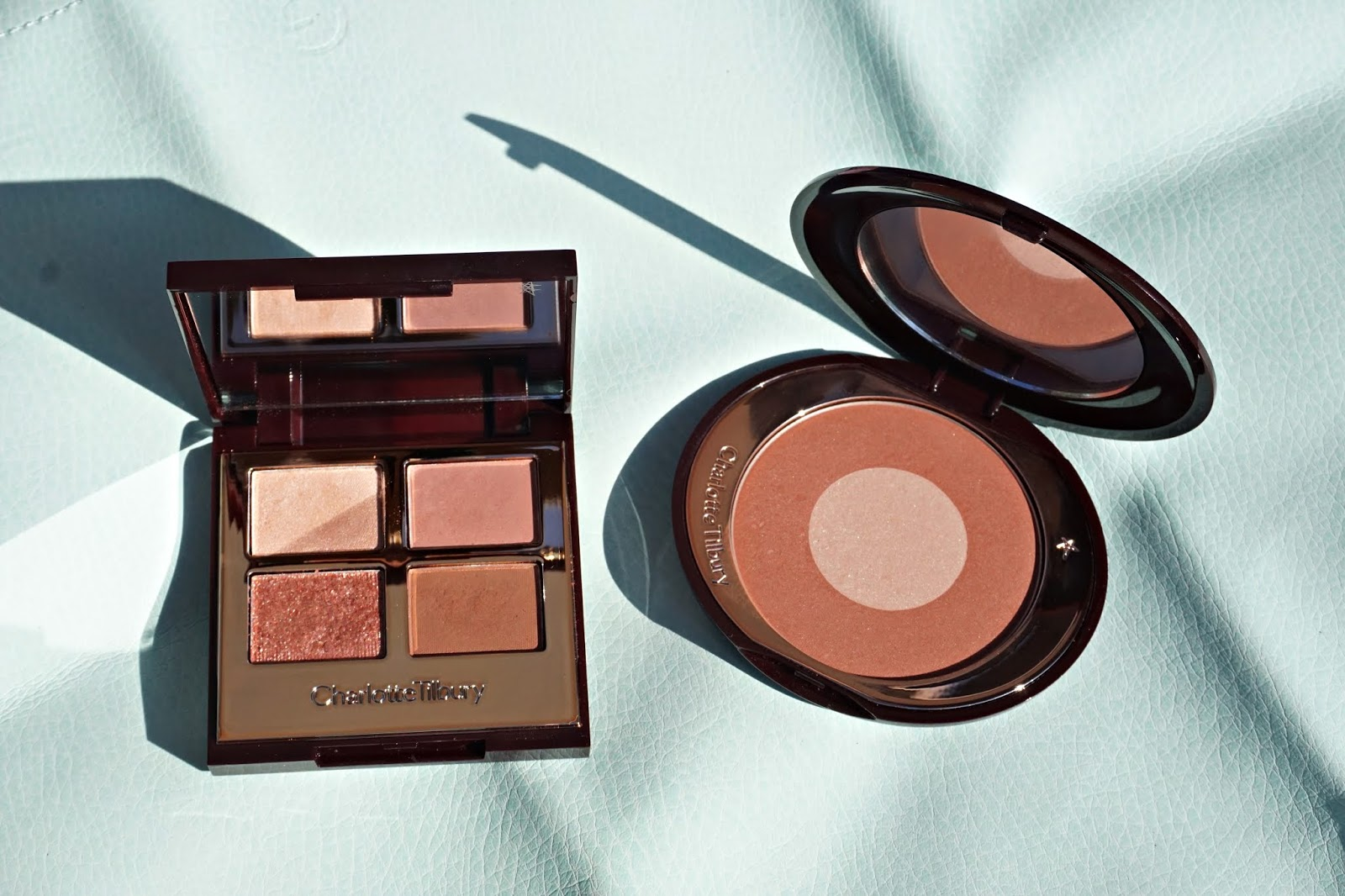 Charlotte tilbury pillowtalk collection swatches