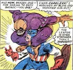 Batroc and Cap
