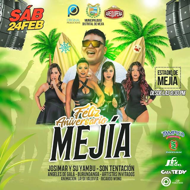 Aniversario de Mejia