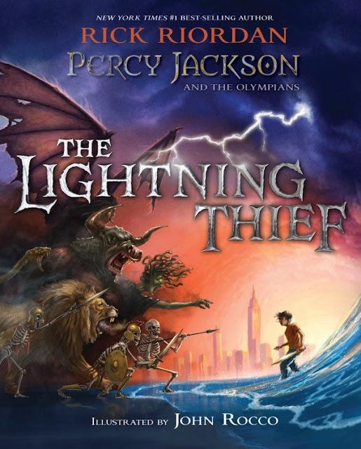 Nova edição Ilustrada de Percy Jackson e Os Olimpianos chega em 2018 nos EUA