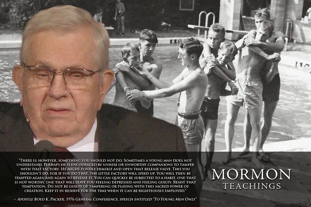Can mormons masturbate