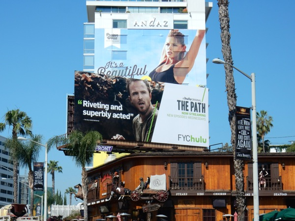 The Path 2016 Emmy Hulu FYC billboard