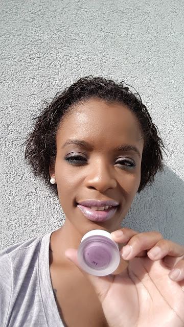 rms beauty lips shine 'royal' swatch www.modenmakeup.com