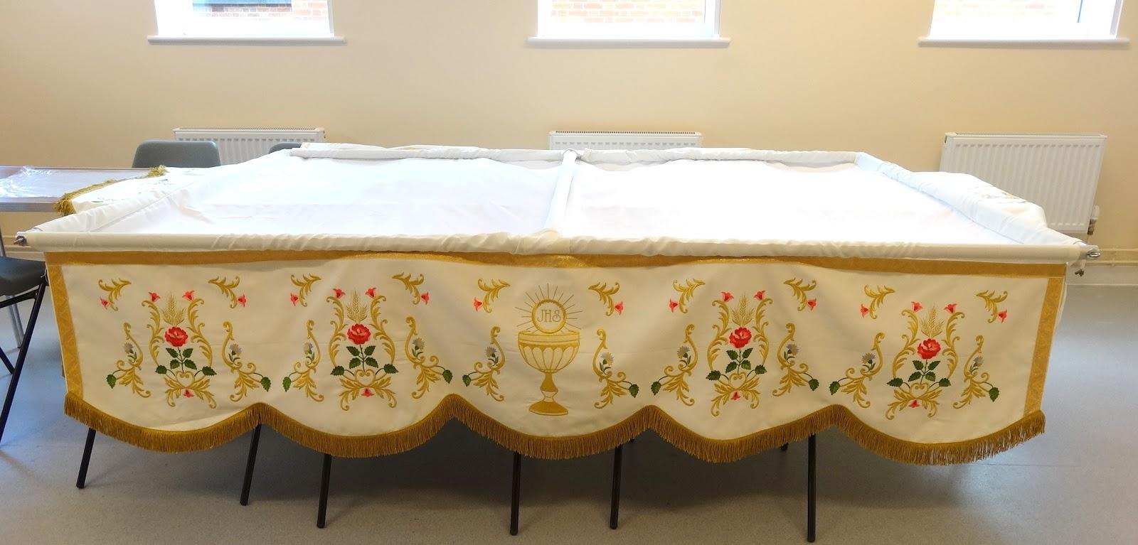 St Anns Parish Blog Banstead Corpus Christi And Our New Baldacchino