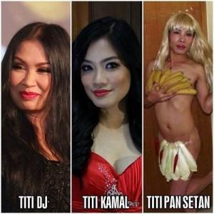 DP BBM: Koleksi Foto Artis Titi DJ Titi Kamal