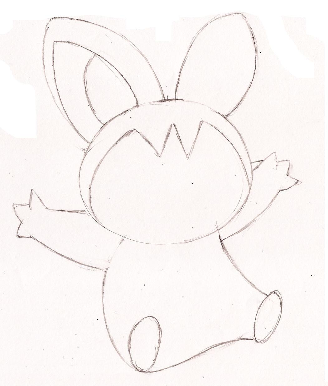 Pokemon Kleurplaten Emolga.Emolga Pokemon Coloring Pages