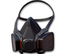 Противогаз закрытый наполовину (Gas Mask Half)