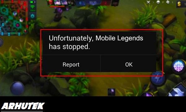 """Tips Ampuh Cara Mengatasi """"Sayangnya Mobile Legends telah berhenti"""""""