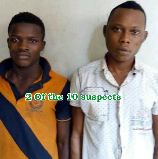 10 cultists rapists ijebu ode ogun