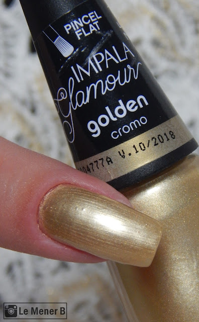 esmalte golden da coleção glamour