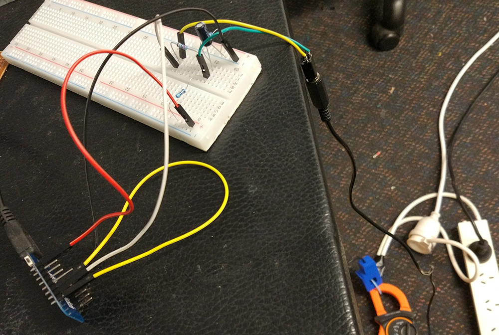 Non-invasive Power Monitor (W I P)