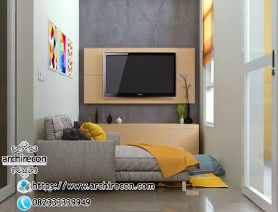 Keunikan Hunian Type 21 Di Lahan 3x12 - Ruang Keluarga