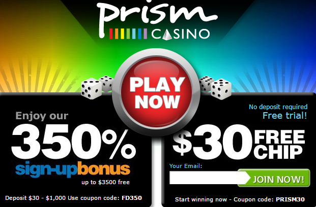 Prism Casino Coupon Codes