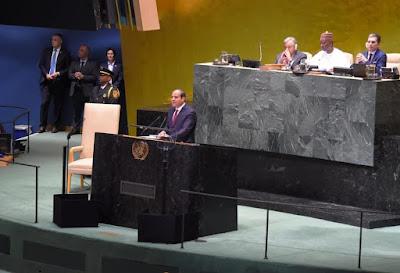 فشل مفاوضات سد النهضة, مايحدث بمصر, المنطقة العربية, كلمة تاريخية للسيسى, الامم المتحدة, الرئيس السيسى,