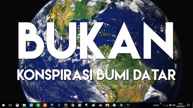 Ini Adalah Konspirasi Microsoft Windows, Bukan Soal Bumi Datar!