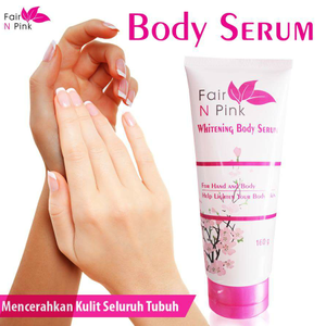 Fair n Pink Whitening Body serum Original New 2017