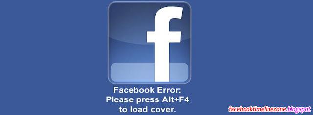Facebook Timeline Zone: Funny Facebook Error Quote