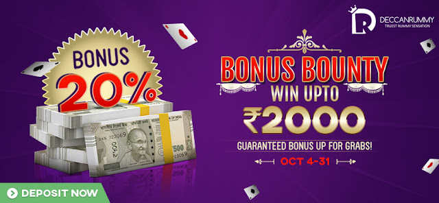 Play our Bonus bounty and win rs.2000