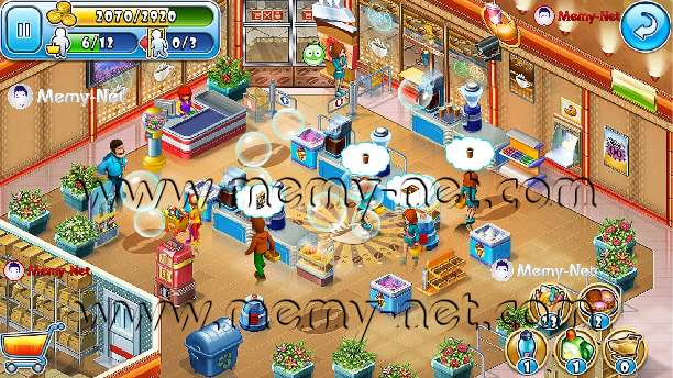 Download Free Game (Supermarket Mania) full version without ads for Android and iPhone and Windows Phone