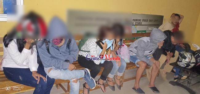 Diduga Oknum Guru Terjaring Razia Pol PP Lampura, Berikut Pasangan Mesum Lain di Hotel