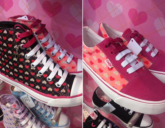 Coleção Capricho - sapatos, tênis e sapatilhas