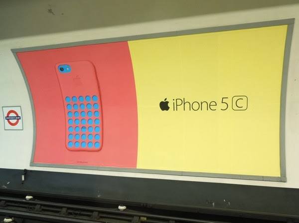 Daily Billboard: Colourful Apple iPhone 5c billboards ...