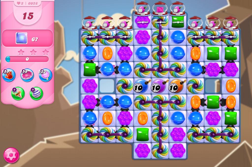 Candy Crush Saga level 6028