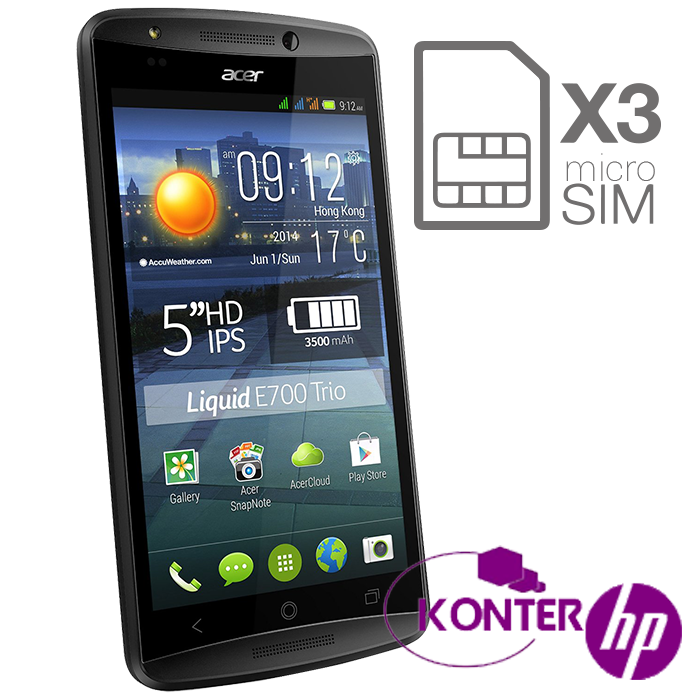 Harga Dan Spesifikasi Acer Liquid E700