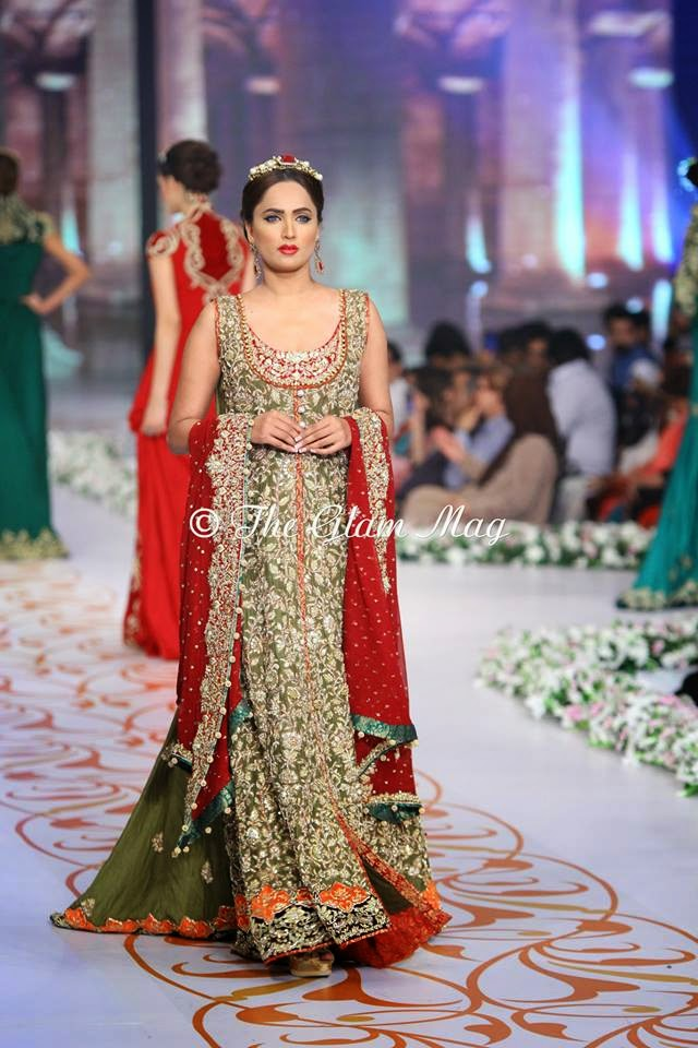 Pantene Bridal Couture Week 2014-15 fashionwearstyle.com