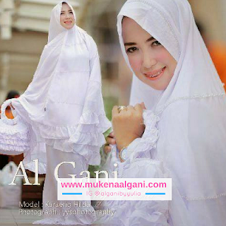 mukena%2Brufle%2B2 Dokter barbie Tika  cantik wearing Mukena Najwa super duper Best Seller 😍