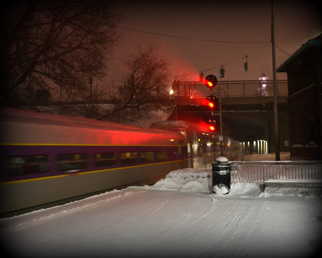 Train, Motion, Salem Depot, Salem, Massachusetts