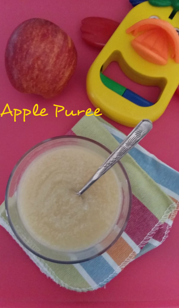 Apple puree for babies baby food recipes delectable flavours breastfeeding is always the best ideal food containing all the natural nutrition needed for your baby until 6 months formula milk or semi solid baby foods forumfinder Gallery