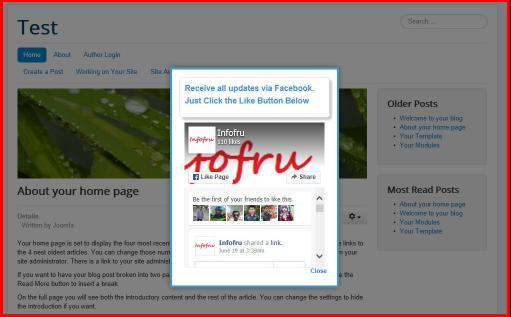 Facebook Homepage Login Screen