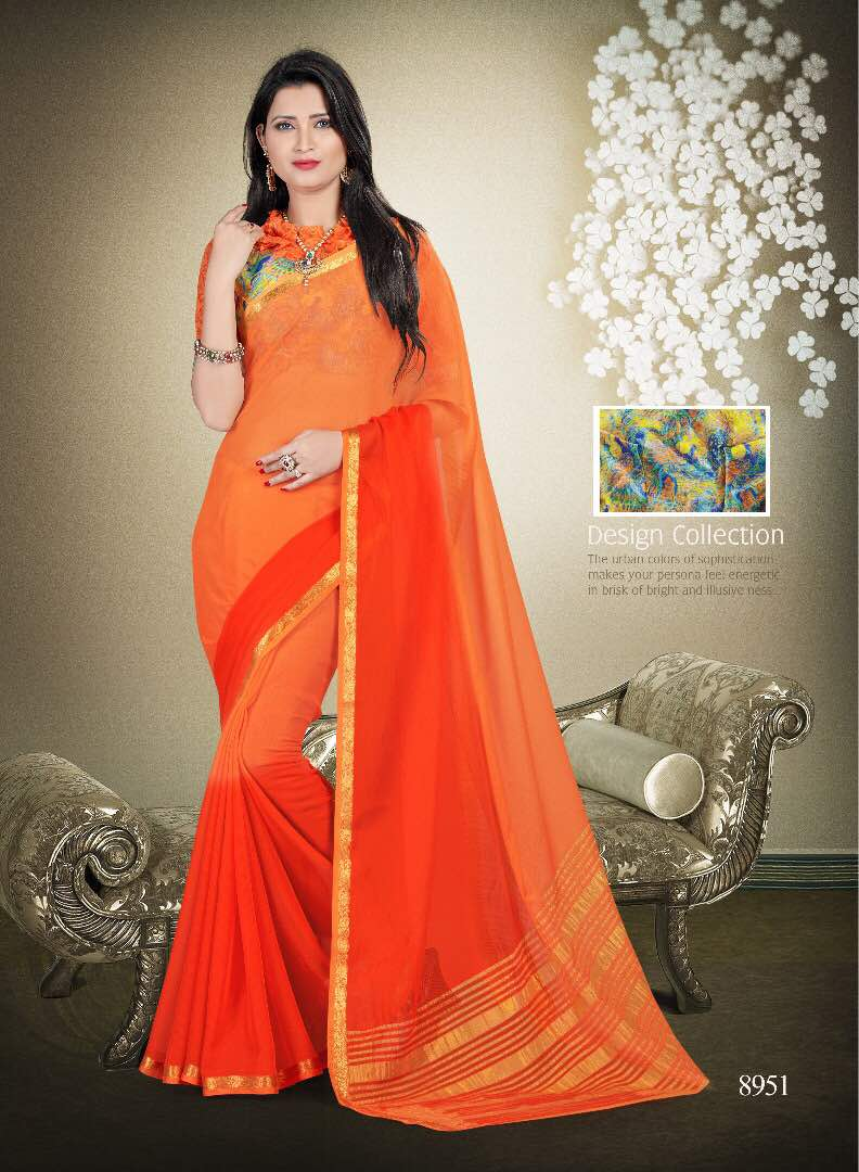 Star Digital – Elegant Exclusive Printed Saree Wholesale