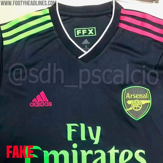Adidas Arsenal 20 21 Third Kit Concept Based On Leaked Info Produced By Fakers Footy Headlines