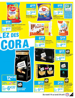 Catalogue Cora 18 au 24 Avril 2017