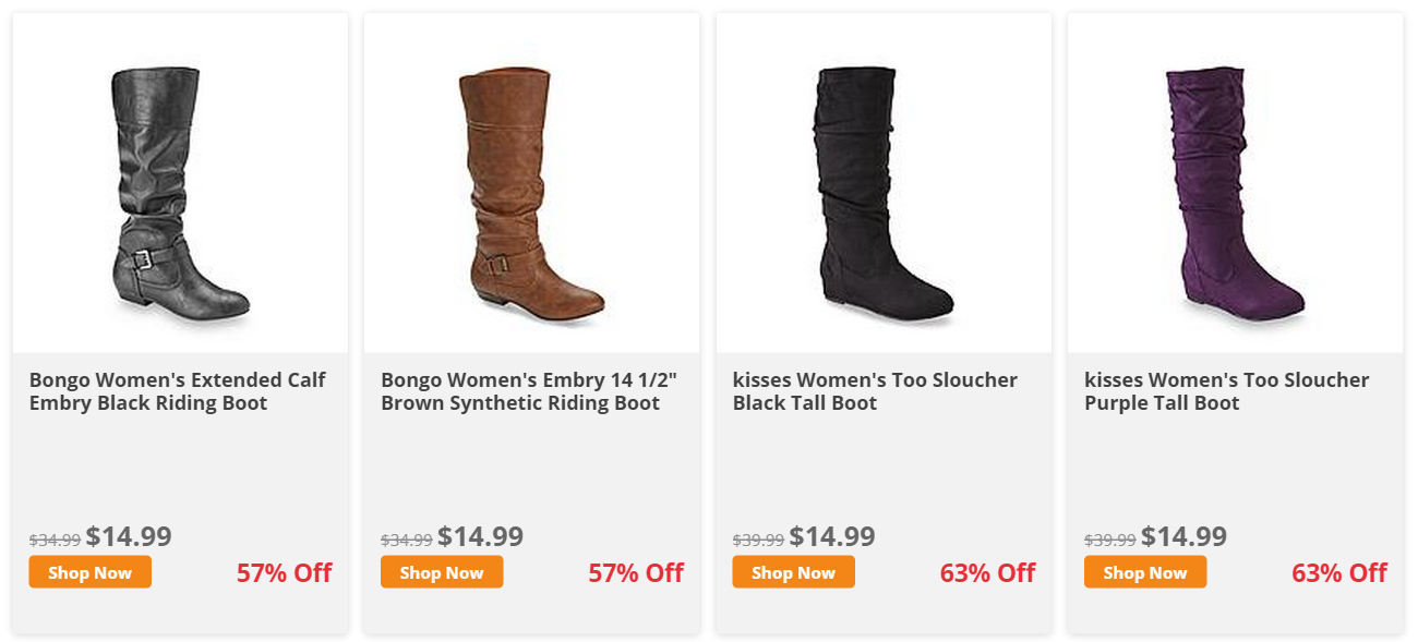98614ea79ac Extreme Couponing Mommy: ONLY $11.24 Women's Boots at KMart