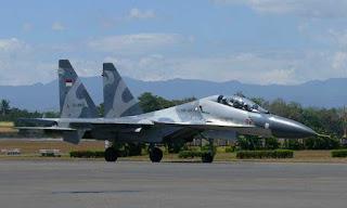 SU-30 TS-3002 TNI AU