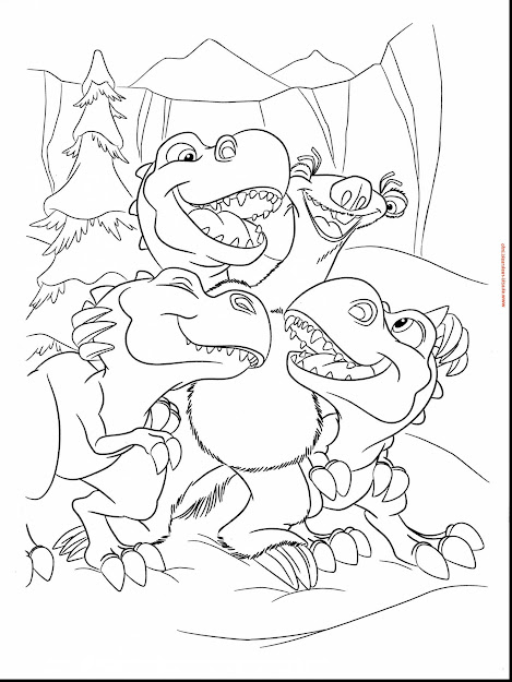 Stunning Ice Age Sid Coloring Pages With Ice Age Coloring Pages And Ice Age  Coloring Pages
