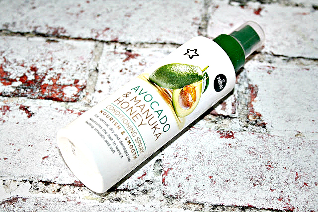 Superdrug Avocado and Manuka Honey Haircare Collection